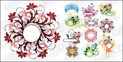 free vector Practical pattern vector material