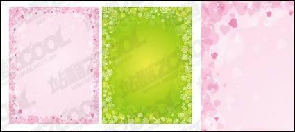 free vector Dreams lace vector material