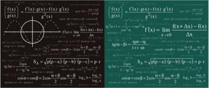 free vector Mathematical amp physical formulas vector
