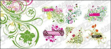 free vector 6, practical pattern vector material-2