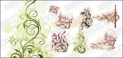 free vector For the smooth pattern vector material