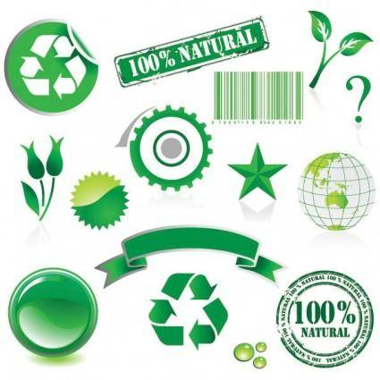Environmental theme vector
