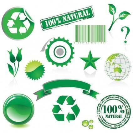 free vector Environmental theme vector