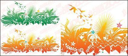 free vector Style paper-cut flowers