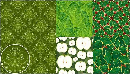 Vector green background material
