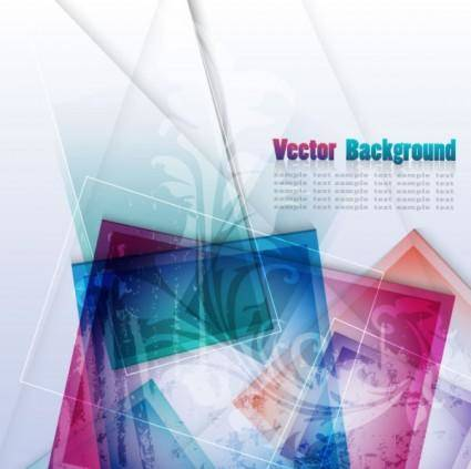 free vector Colorful abstract background 02 vector