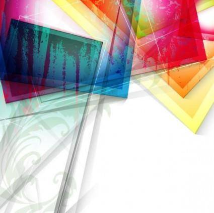 Gorgeous abstract background 04 vector