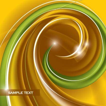 Dynamic abstract spiral pattern 03 vector