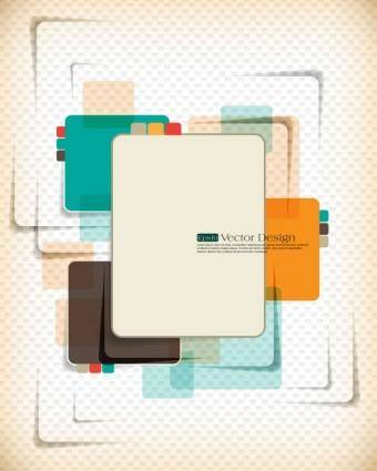 free vector Dynamic set of abstract elements 01 vector
