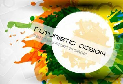 free vector Abstract design elements 01 vector