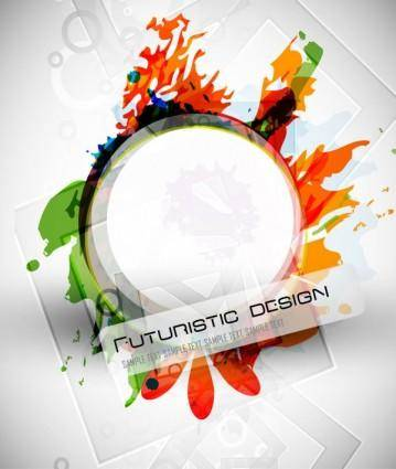 free vector Abstract design elements 02 vector