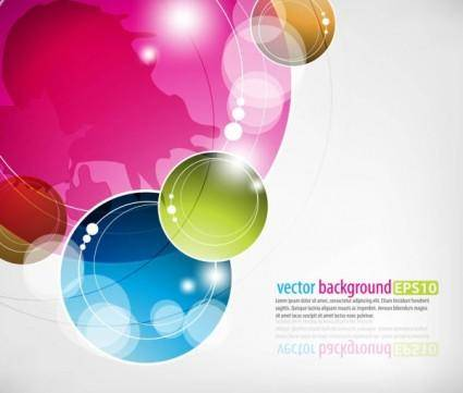 free vector Dynamic colorful abstract elements 05 vector