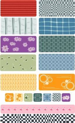 free vector Lovely abstract vector background shading case