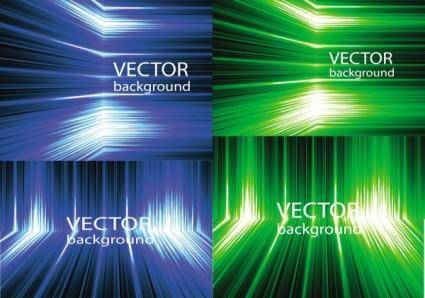 Dynamic abstract background vector