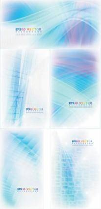 free vector Abstract lines background vector dream