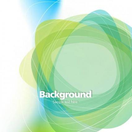 free vector Dream green abstract background 02 vector