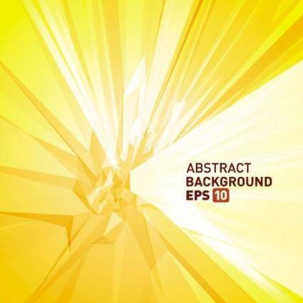 Halo threedimensional abstract background 05 vector