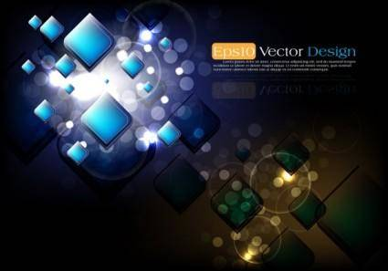 Abstract vector background object 01 vector