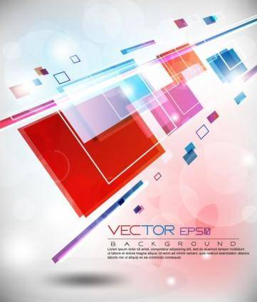 Colorful abstract elements 10 vector