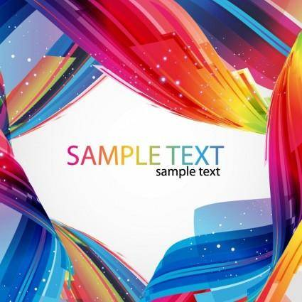 free vector Abstract Colorful Vector Art
