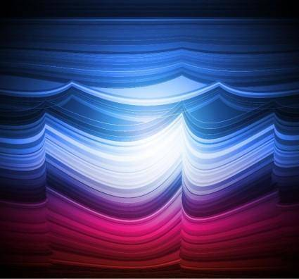 free vector Abstract Colorful Wave Vector Background Art