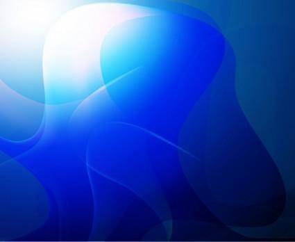 free vector Blue Abstract Background Vector Art