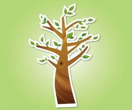 free vector Abstract Tree