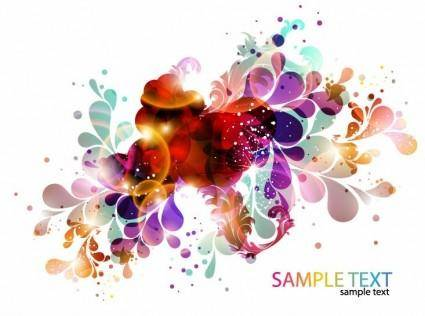 free vector Colorful Abstract Design Background