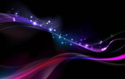 Amazing Abstract Glowing Vector Background