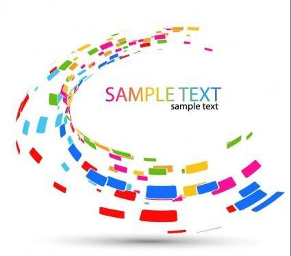 free vector Abstract Mosaic Background Vector Graphic