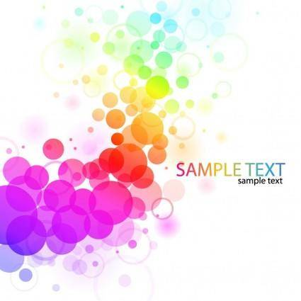 free vector Vector Abstract Colorful Background