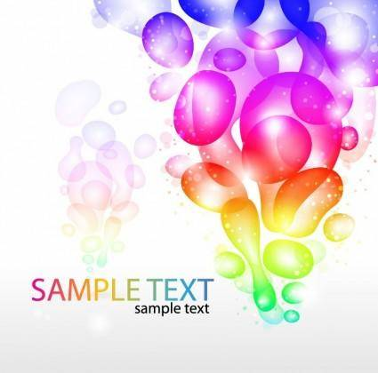 free vector Colorful Abstract Background Vector Graphic