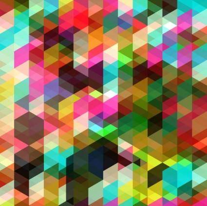 free vector Colored Abstract Vector Art