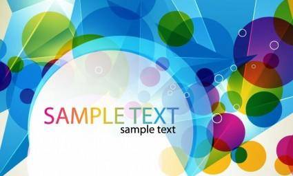 free vector Abstract Colorful Design Vector Artwork