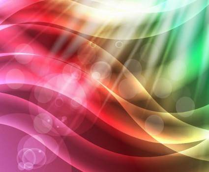 free vector Colorful Abstract Vector Background