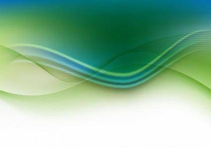 Abstract Wave Background Artwork