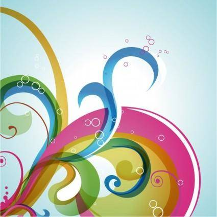 free vector Abstract Swirl Vector Background