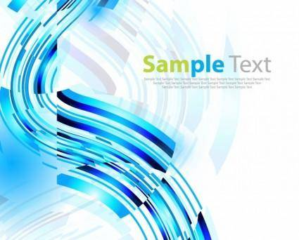 free vector Abstract Blue Vector Art Background