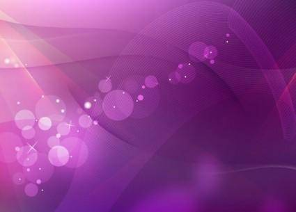 free vector Purple Abstract Wave Background