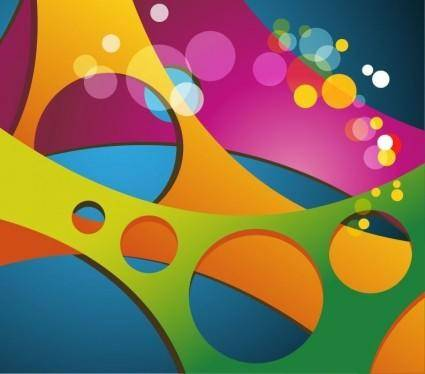 free vector Abstract Colored Vector Background
