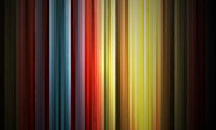 free vector Abstract Rainbow Colors on Black Background Vector Graphic