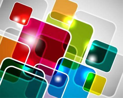 free vector Abstract Square Vector Background