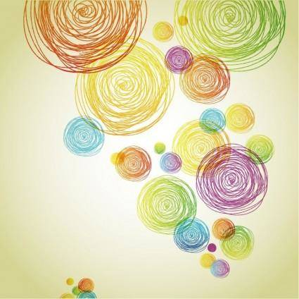 free vector Abstract Pencil Scribble Background Vector