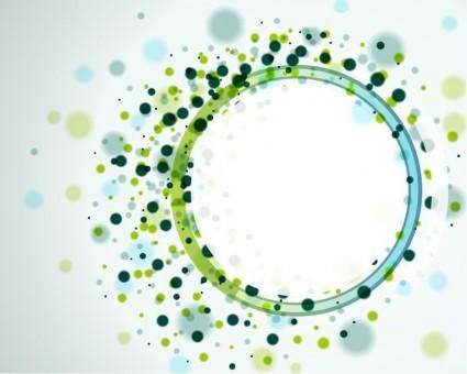 free vector Vector Abstract Circles Background