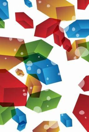 free vector 3D Abstract Background Vector Illustration