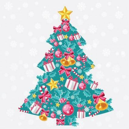 free vector Abstract Christmas Tree Vector Art