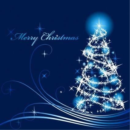 free vector Abstract Christmas Tree Vector Illustration