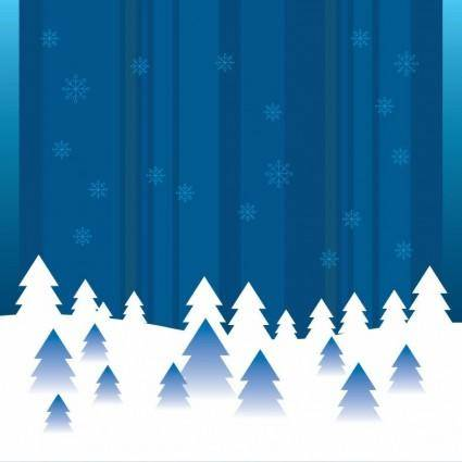 free vector Vector Abstract Winter Background