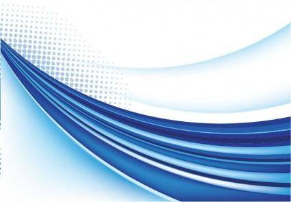 Abstract Blue Background Vector Graphic 6