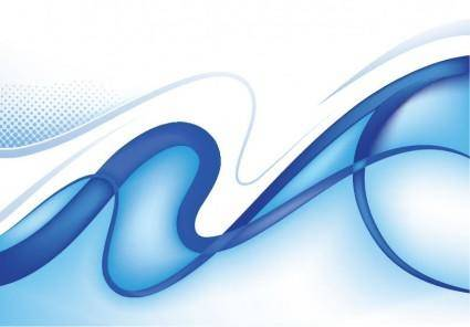 free vector Abstract Blue Background Vector Graphic 2